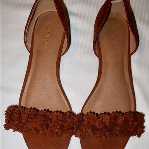 Lane Bryant Open Toe Camel Sandals